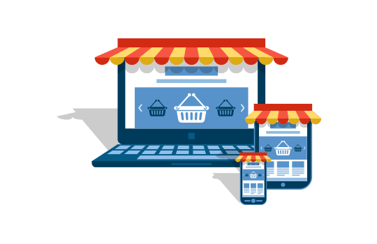E-commerce website designing & development